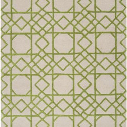 Surya Rugs - Goa Sand Dollar Rug Size: 5' x 8' - 100% New Zealand Wool. Style: Contemporary. Rugs Size: 5' x 8'. Note: Image may vary from actual size mentioned.