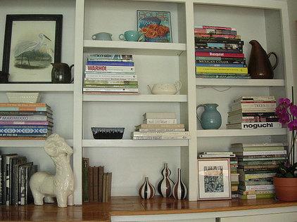 Becky's Living Room Shelves I