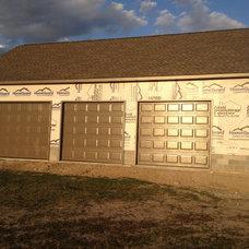 Contemporary Garage Doors by Quality Door