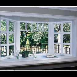 Vinyl Garden Windows - Photo Credit: XO Windows - Vinyl Garden Windows
