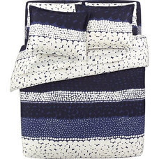 Eclectic Duvet Covers by Crate&Barrel