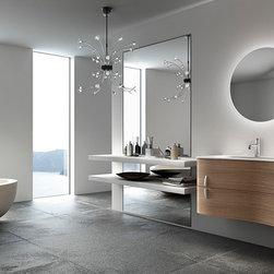 Contemporary Kitchen and Bath designs - collection ONDA