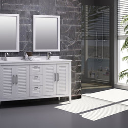 Madrid bathroom vanity set. 60 inch. - Will be available in stock as of august 25
