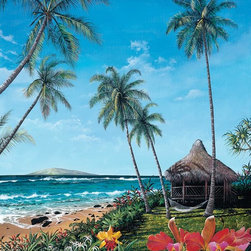 Murals Your Way - Maui Morning Wall Art - Painted by Scott  Westmoreland, Maui Morning wall mural from Murals Your Way will add a distinctive touch to any room