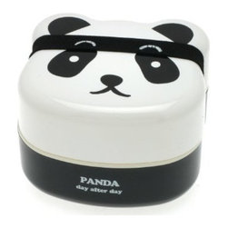 Panda 2-Tiered Bento Box - Bento boxes are my latest favorite thing for packing lunches. And a cute panda is sure to make opening it up a major event each day.