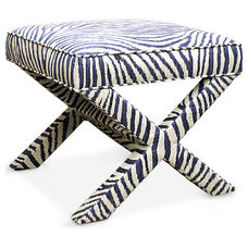 Eclectic Upholstered Benches by Jonathan Adler