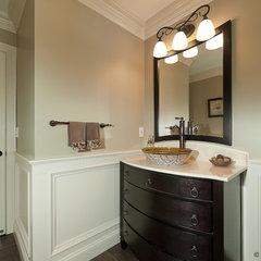 traditional powder room by Divine Kitchens LLC