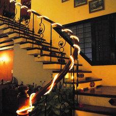 Mediterranean Living Room by Rama