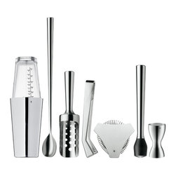 7 Piece Bar Set - As with anything, great tools help make better drinks. I love the simplicity of these WMF bar tools, and this set gives you everything you need for perfect cocktails.