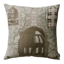 Parisian Architecture Pillow