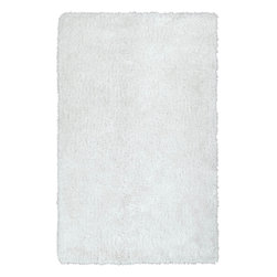 Kaleen - Kaleen Posh PSH01 (White) 9' x 12' Rug - This Hand Made rug would make a great addition to any room in the house. The plush feel and durability of this rug will make it a must for your home. Free Shipping - Quick Delivery - Satisfaction Guaranteed