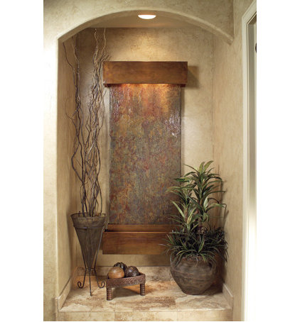 Modern Indoor Fountains by Wall Fountains