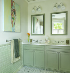 traditional bathroom by Rachel Reider Interiors