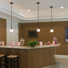 Traditional Family Room by E3 Cabinets & Design