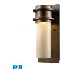 ELK Lighting - One Light Hazelnut Bronze Outdoor Wall Light - One Light Hazelnut Bronze Outdoor Wall Light