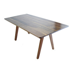 Modernre8ve - Mid Century Modern Inspired Sputnik Solid Walnut Dining Table, Mixed Wood - Time to buy a real dining table?