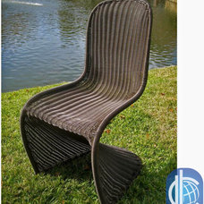 Contemporary Outdoor Chairs by Overstock.com