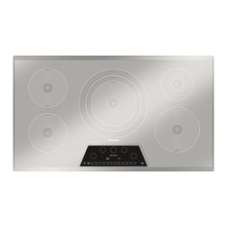 """Thermador Masterpiece 36"""" Induction Cooktop, Silver Mirrored 