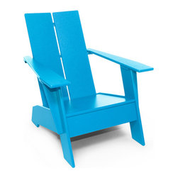 Loll Designs - Kids Adirondack Chair - Loll Designs - All Loll Design products are made from 100% recycled high density polyethylene (plastic milk jugs). Since 2005, Loll Designs has kept over 18 million milk jugs out of landfills.