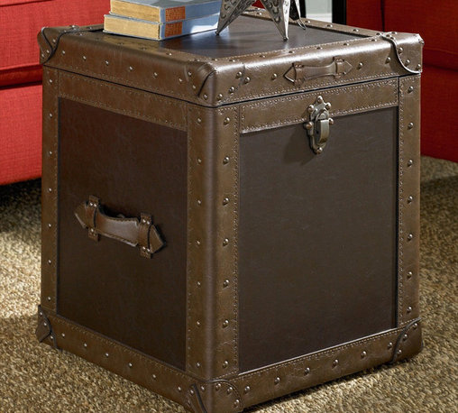 """Hammary - Hidden Treasures Trunk Cube - """"Hammary's Hidden Treasures collection is a fine assortment of unique accent pieces inspired by some of the greatest designs the world over. Each selection is rich in Old World icons and traditions."""