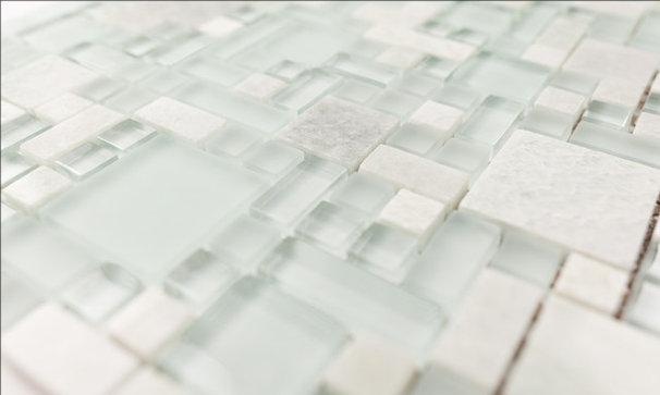 Modern Mosaic Tile by HomeThangs