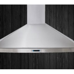 """Elica - EPL630S1 Pilato New Stainless 30"""" Wall Mount Range Hood with 600 CFM Blower  Sta - Pilato features an elegantly rounded front that softens the units striking angles and pro kitchen profileThe 30 width Pilato Wall MountRange Hoodfeatures include a powerful 600 CFM blower halogen lighting with 2 light intensities stainless steel mesh..."""