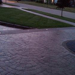 Custom Home Driveway -
