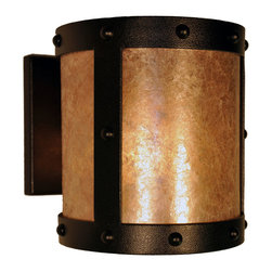 Steel Partners Inc - Open Sconce - RIVETS - Every piece we create is unique — handcrafted at our factory in Chehalis, Washington, USA. Due to this, lead times are 2 to 4 weeks.