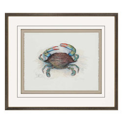 Paragon - She Crab - Framed Art - Each product is custom made upon order so there might be small variations from the picture displayed. No two pieces are exactly alike.
