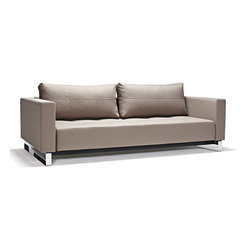 Innovation - Innovation Cassius Deluxe Excess Lounger Sofa Bed - Converting to a Bed is Easy: