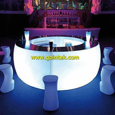 Modern Indoor Pub And Bistro Tables by www.gointek.com Led furniture supplier from China