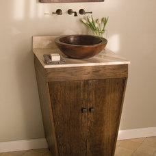 Mediterranean Bathroom Vanities And Sink Consoles by DirectSinks