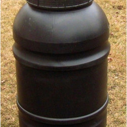 Upcycle - Upcycle 55 Gallon Stationary Composter - COM-55-S - Shop for Garden Equipment from Hayneedle.com! Compost your kitchen and yard waste the environmentally safe way with the Upcycle 55 Gallon Stationary Composter. This basic composter is an upcycled food-grade barrel meaning no new materials were used in its construction. This composter stands about 4 feet tall and only requires a 3- by 4-foot area. Designed for the homeowner who wants to learn the basics of composting with a minimal amount of cost. This composter can be used as a stand alone compost bin or it can be used as a feeder bin for a tumbling composter. The best garden tools are those that fit your style. If you prefer to work at waist level this compost maker is perfect. With this composter you'll get a clean easy and environmentally friendly way to compost your kitchen and yard waste back into the environment. Use Compost Thrive (sold separately) as a starter and accelerator to perform the composting. Compost Thrive reduces odor making your compost easier and more pleasant use. Please note: Upcycle uses recycled materials in manufacturing this process may use different batches of recycled materials when molded so body styles may vary. If multiple units are purchased all efforts are made to match products but cannot guarantee they will be identical. Some can have a smooth surface where others may be ribbed. Manufacturer can be reached for special instruction please call Hayneedle customer service for specialized requests. About Upcycle ProductsUpcycle is the largest manufacturer of Upcycled Rain Barrels in the United States. Originally used to ship food overseas these recycled barrels are ideal for storing rainwater. Besides saving landfill space Upcycle's company philosophy is that nothing is thrown out. They minimize their carbon footprint through the effective use of water CFL lighting vehicle fuel and heat even collecting rainwater off their roof to use for washing barrels. The owners practice