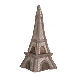 Westland - 5 Inch Paris-Inspired Eiffel Tower Salt and Pepper Shakers - Gray - This gorgeous 5 Inch Paris-Inspired Eiffel Tower Salt and Pepper Shakers - Gray has the finest details and highest quality you will find anywhere! 5 Inch Paris-Inspired Eiffel Tower Salt and Pepper Shakers - Gray is truly remarkable.