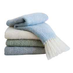 Nantucket Looms - Nantucket Looms Handwoven Mohair Throw - Whether draped across your lap while you watch the light change over the ocean, or wrapped around your shoulders to ward off the chill of an island evening, our signature Handwoven Mohair Throw is the perfect accompaniment to your Nantucket days and nights.