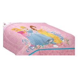 Franco Manufacturing Company Inc - Disney Princesses Dream Big Full Bed Comforter - Features: