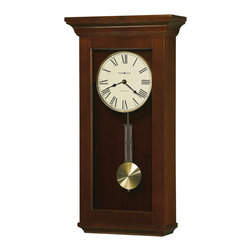 Howard Miller - Howard Miller Chiming Wall Clock with Pendulum | CONTINENTAL - 625468  Continental