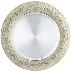 Traditional Charger Plates by Crate&Barrel