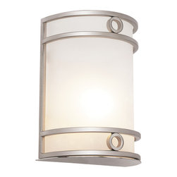 Trans Globe - Trans Globe MDN-1032 WH 1-Light Wall Sconce - Trans Globe MDN-1032 WH 1-Light Wall Sconce