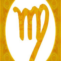 Fine Art America - Virgo and Solar Chakra Abstract Spiritual Artwork - August: Virgo: Virgin: Manipura: Solar Chakra: Yellow