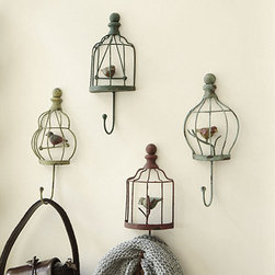 Assorted Bird Hooks - Aren't these so sweet and whimsical? I've always had a thing for birds (I think because my mom does, too) and these little guys are pulling at my heart strings. They wouldn't fit into my decor at home, but I'm sure I could find the perfect project to place them in!
