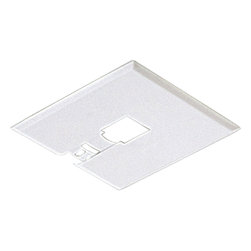 Progress Lighting - Progress Lighting P9107-28 Canopy Kit Flush Mount - Canopy Kit Flush Mount. Mounting plate can be used anywhere along track. Slips between ceiling and track.