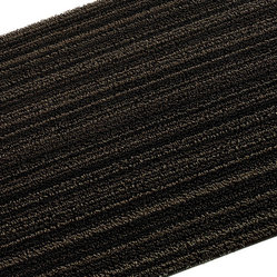 Chilewich Shag Floor Mat, Steel