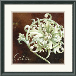 Amanti Art - Calm Framed Print by Maria Woods - The rich, bold tones and eye-catching design of 'Calm' will add a touch of sophistication any room.