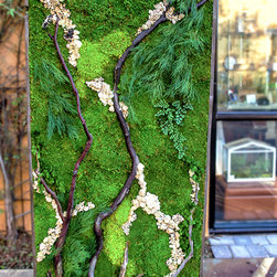Artisan Moss, Plant Painting, Designer Erin Kinsey -