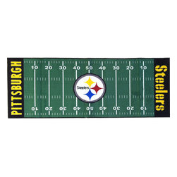 Fanmats - NFL Pittsburgh Steelers Football Long Accent Runner Rug - Features: