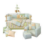 Finley 5-Piece Crib Bedding Set with Pillow by Glenna Jean