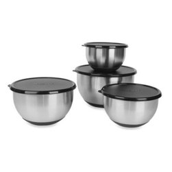 Berghoff - BergHOFF Geminis 8-Piece Mixing Bowl Set - BergHOFF Geminis 8-Piece Mixing Bowl Set is the perfect set for everyday cooking. Includes every size needed for everyday applications.