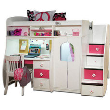 contemporary kids beds by Totally Kids fun furniture & toys