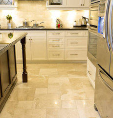 traditional floor tiles by Hermes Mozaik Stone Tile and Marble